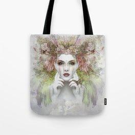 Springtime Goddess Tote Bag