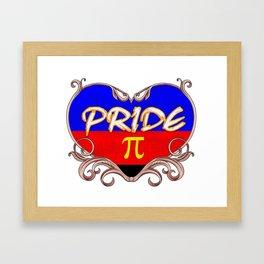 pride - Gay Pride T-Shirt Framed Art Print