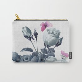 Roses and Butterflies Carry-All Pouch