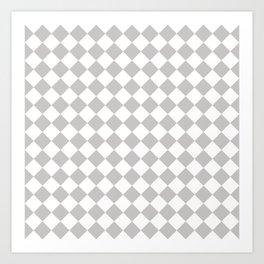 Sexy Checkers Art Print