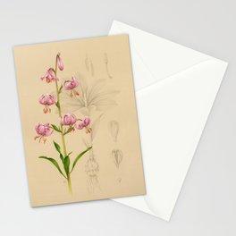 Lilium martagon Stationery Cards