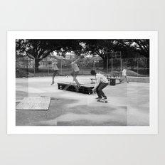 Skater Series #2 Art Print