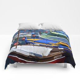 Port de Nice Boats Comforters