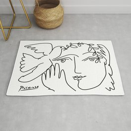 Picasso - Dove of peace Rug