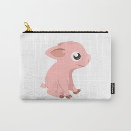 Cute Baby Pig Carry-All Pouch