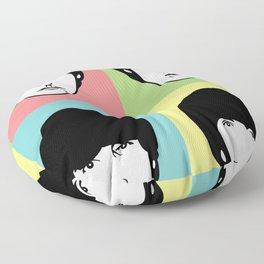 The Four Headed Monster Floor Pillow