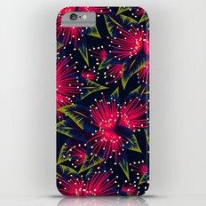 New Zealand Rata floral print (Night) iPhone 6 Plus Slim Case