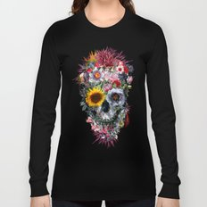 Voodoo Skull Long Sleeve T-shirt