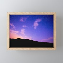 Sun Rise Sky Framed Mini Art Print