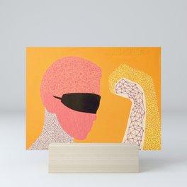 The Fucking Textures Mini Art Print