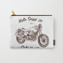 vintage moto guzzi - cafe racer Carry-All Pouch