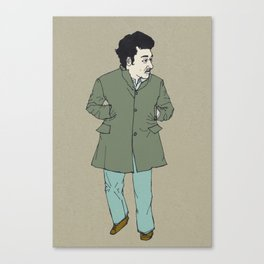 Fall, man Canvas Print