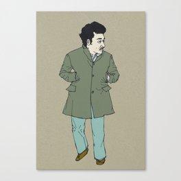 Fall, man Canvas Print