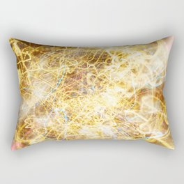Golden Frequencies Rectangular Pillow