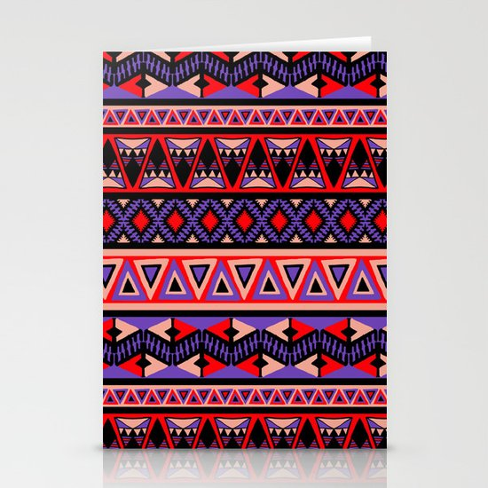 Neo Tribal Stationery Cards