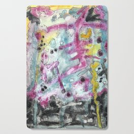 Abstract Art - Moving Cutting Board