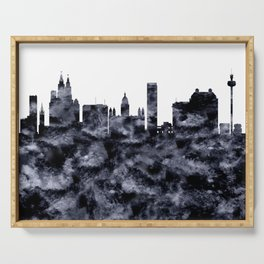 Liverpool Skyline Great Britain Serving Tray
