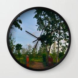 Kenya / Kitui Gate Wall Clock