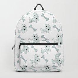 Pretty Pooch and Bone - grey Backpack