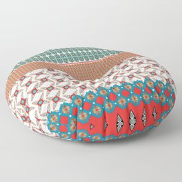 Africa Strip Floor Pillow