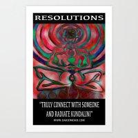 Chakranicity Resolutions 4 Art Print