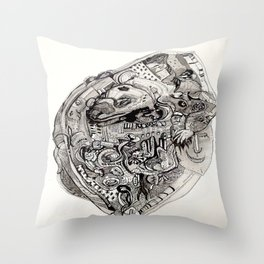 In a Nutshell Throw Pillow