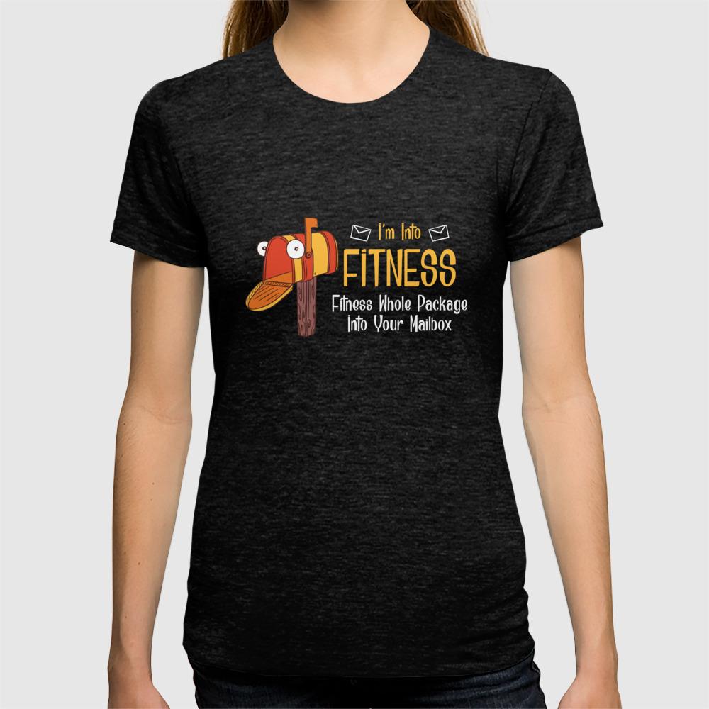 I M Into Fitness Funny Mail Carrier Postal Worker Illustration T