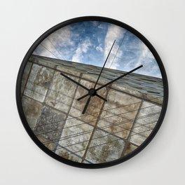 Sinking Building Sky of Dread Wall Clock