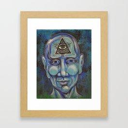Third eye Framed Art Print