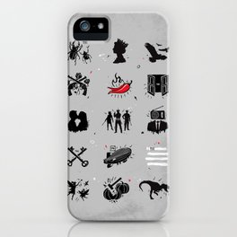 Rock n Roll Pictionary iPhone Case