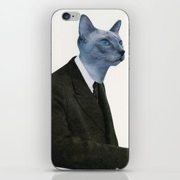 Cat Chat iPhone Skin