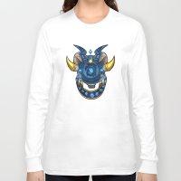 warcraft Long Sleeve T-shirts featuring Blue Dragonflight Crest by Fallingstardusk