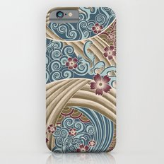 Waves of tradition-olive Slim Case iPhone 6s