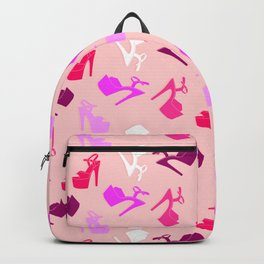 Pole dance shoes Backpack