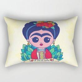 Little Frida Rectangular Pillow