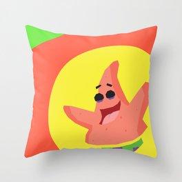 Patrick Star Throw Pillow