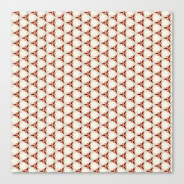 Three red pattern Canvas Print
