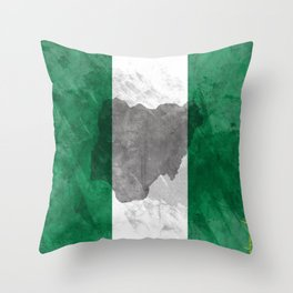 THOUGHTS OF NIGERIA Throw Pillow