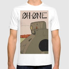 OhOne COLOR Mens Fitted Tee MEDIUM White