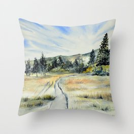 Verdi Glen Throw Pillow