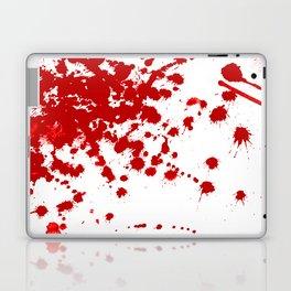 Red Splatter Laptop & iPad Skin