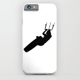 Time To Wake Up Kiteboarder Silhouette iPhone Case