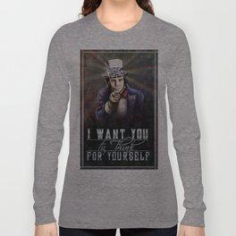 Bill Hicks Conscience Propoganda Long Sleeve T-shirt