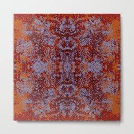 Colorful Abstract Decorative Boho Chic Style Mandala - Iloma Metal Print