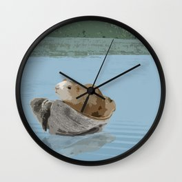 Guinea Pig's Great Adventure Wall Clock