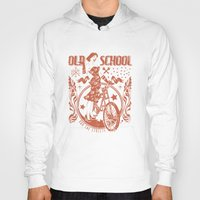old school Hoodies featuring Old school by Tshirt-Factory