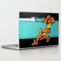 samus Laptop & iPad Skins featuring Samus Aran by Arnix