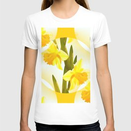 Spring Yellow Flowers #decor #society6 #buyart T-shirt