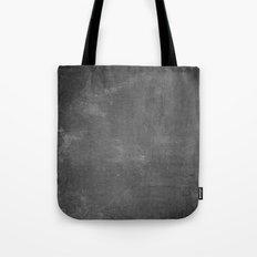 Gray and White School Chalk Board Tote Bag