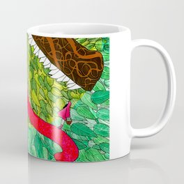 Embroided Wolf Coffee Mug